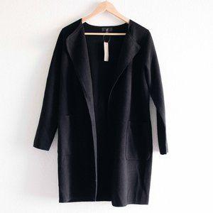 NWT J.Crew Juliette collarless sweater-blazer